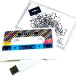 Retro Mixtape Design, Cassette Tape USB Flash Drive 8GB
