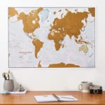 Scratch Card World Map